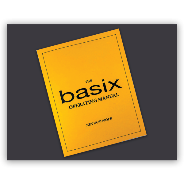 Thumbnail for Basix Operating Manual
